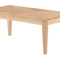 Whitewood Shaker Coffee Table