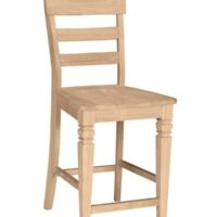 Whitewood Java Counter Stool