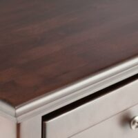 Whittier Wood TV Console with Caffe Finish