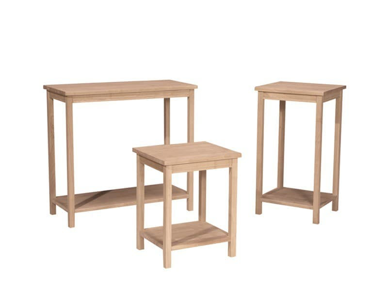 Whitewood Portman Table Collection