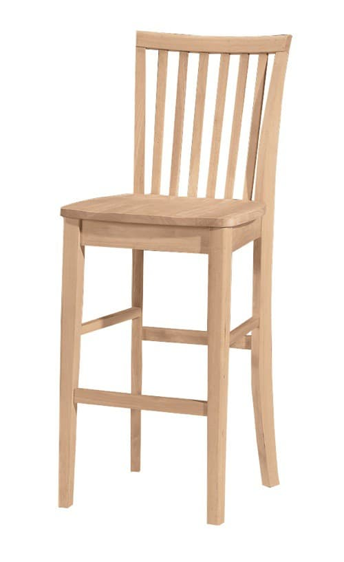 Mission Bar Stool And Counter Stool Free Shipping