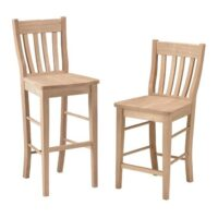 Scoop Seat Bar Stool And Counter Stool