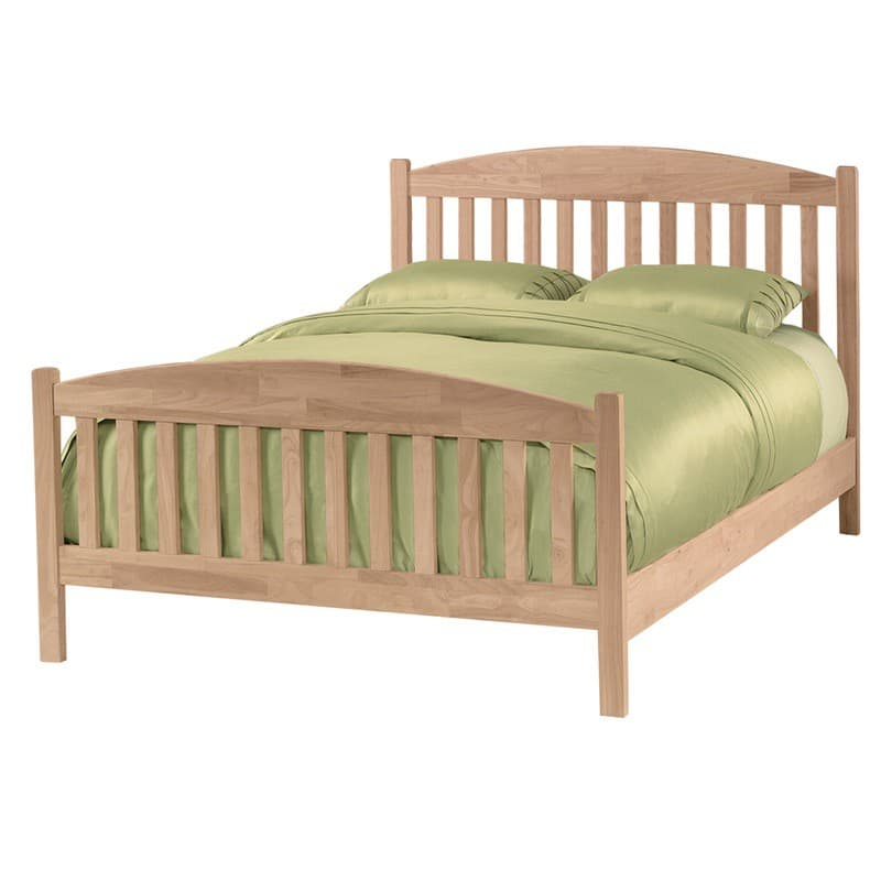 Whitewood Jamestown Bed unfinished
