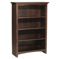 Whittier Wood McKenzie Bookcase Collection – 30″ Wide