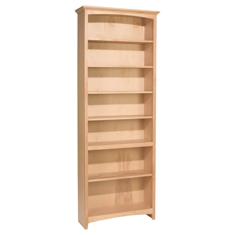 Whittier Wood McKenzie Bookcase Collection 30 Wide