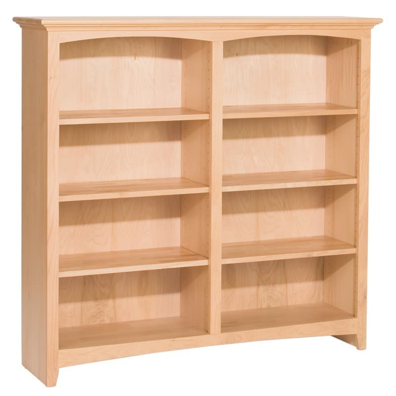The Whittier Wood Bookcase Is 48 Wide With Many Heights