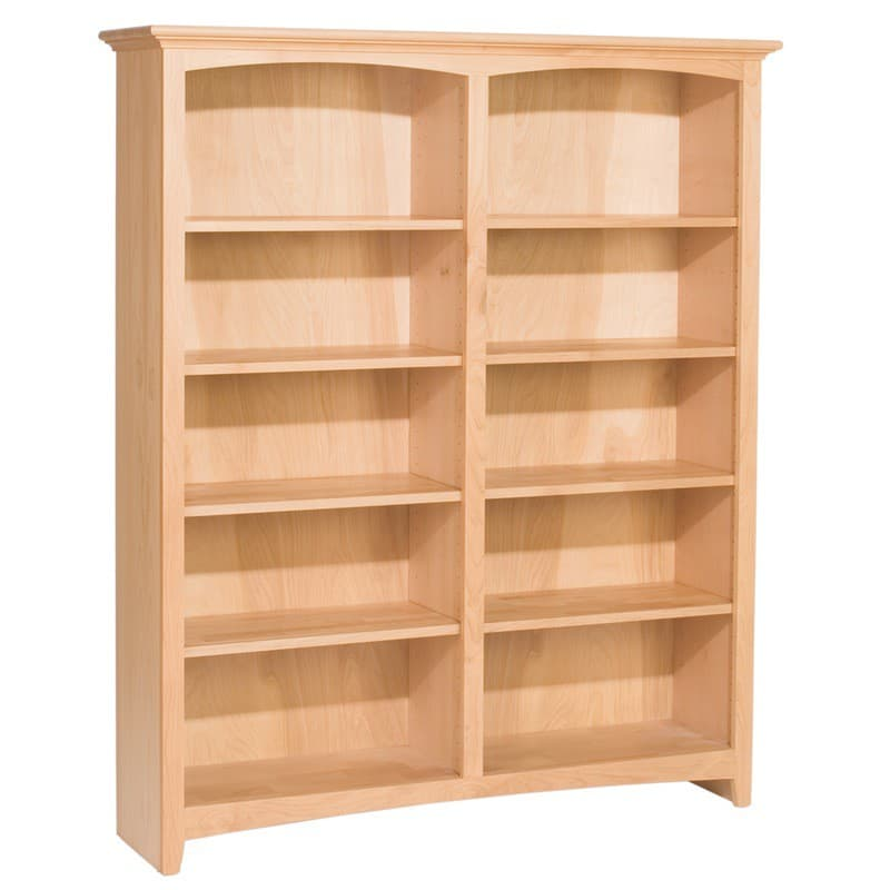 Whittier Wood Mckenzie Bookcase Collection 48 Wide 60