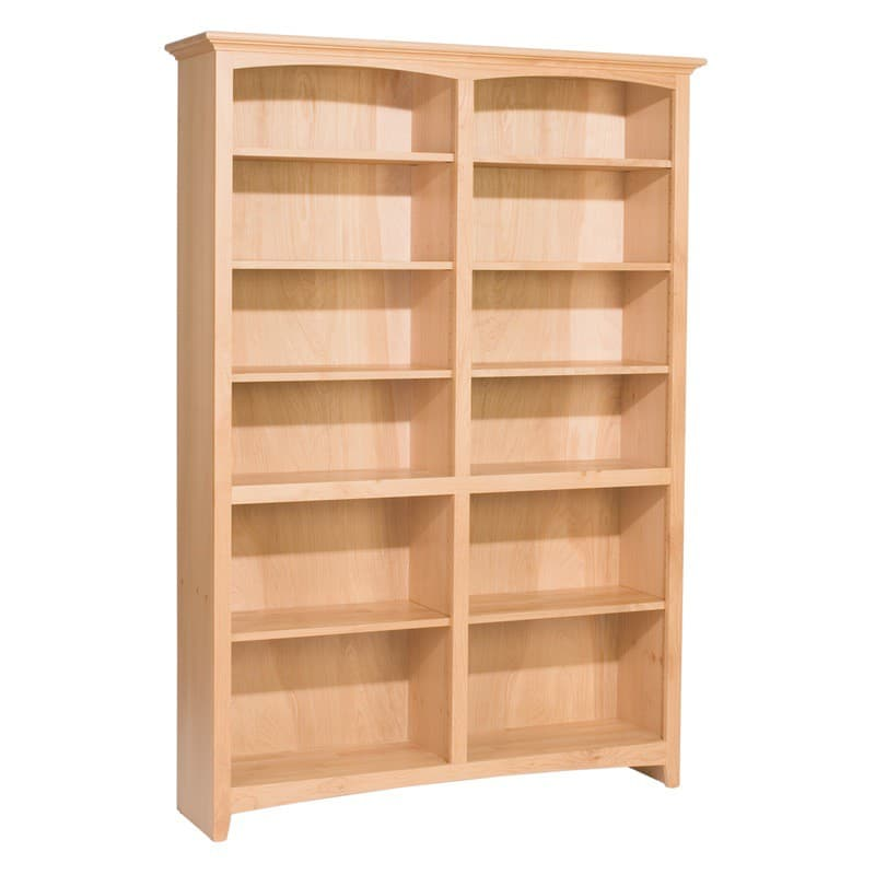 Unpainted Wood Bookcases ~ Whittier wood mckenzie bookcase collection ″ wide