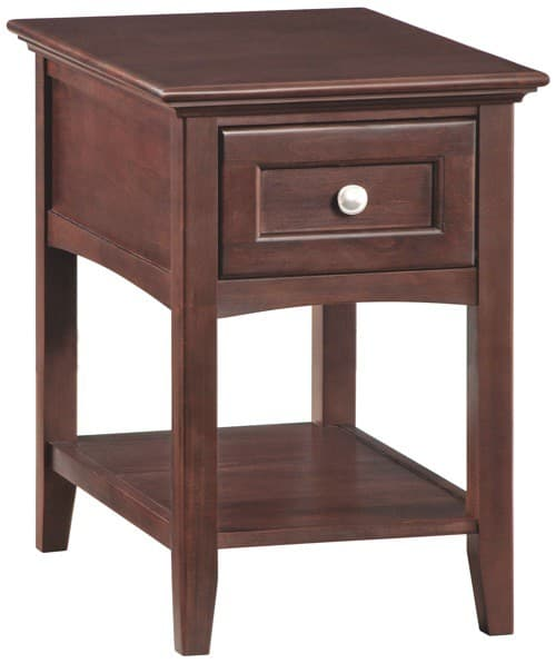 Whittier Wood Mckenzie Chair Side Table Free Shipping