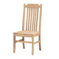 Whitewood Tall Mission Chair