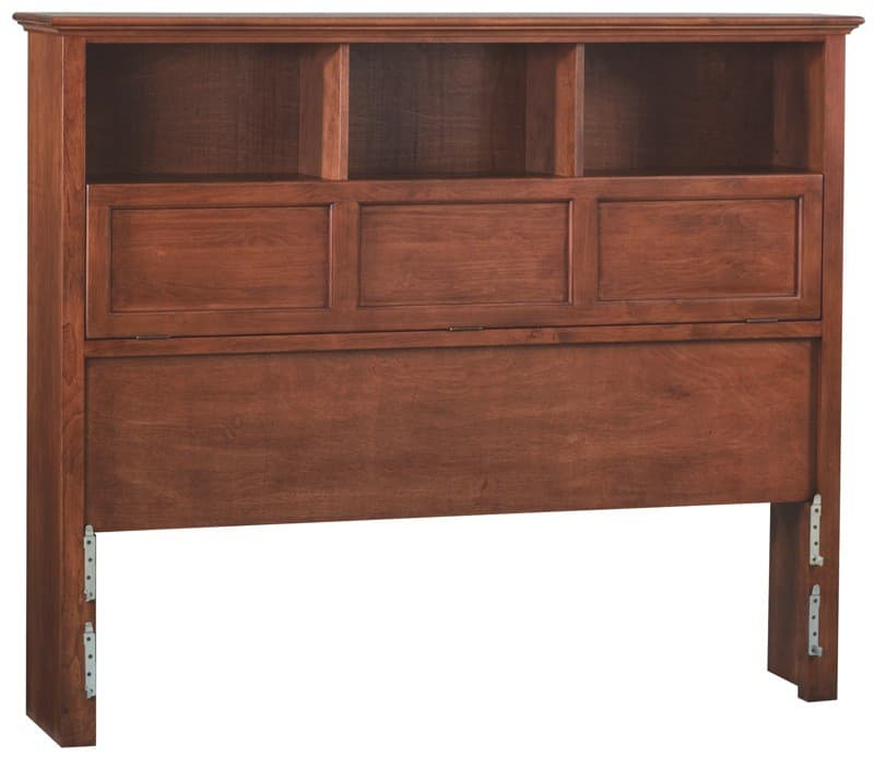 Whittier Wood McKenzie Bookcase Headboard - Free Shipping