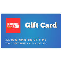 Furniutre in the Raw Gift Card