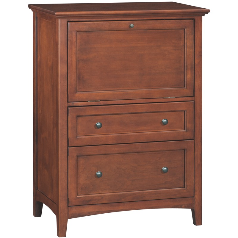 Whittier Wood Mckenzie Office Chest Free Shipping