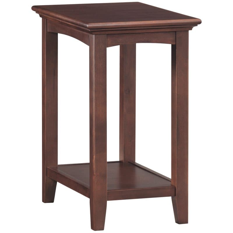 Whittier Wood Mckenzie Accent Table Free Shipping