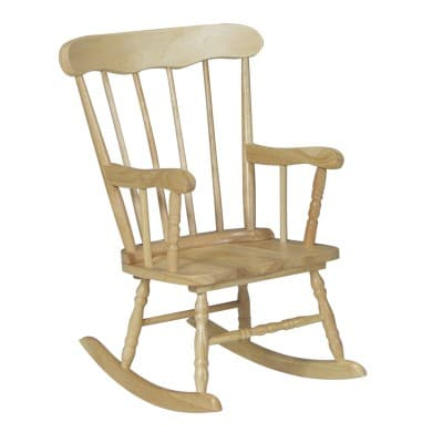 Miraculous Whitewood Kids Boston Rocking Chair Is A Classic Machost Co Dining Chair Design Ideas Machostcouk