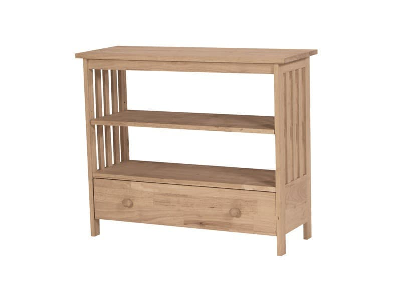 Whitewood Bookcases For Kids Shaker Solid Parawood: Whitewood Mission Entertainment Stand