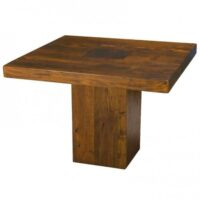 Tao Square Dining Table 40″ with Walnut finish