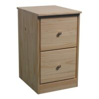 Archbold Pine Modular Home Office File Drawer Pedestal
