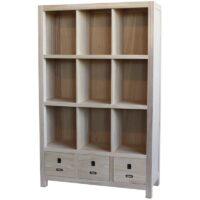 Archbold All Wood Accents Modern Bookcase unfinished