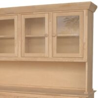 Traditional Wood Buffet 4 doors.