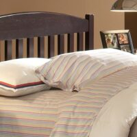 Whitewood Jamestown Bed headboard with Espresso finish