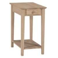 Whitewood High End Table