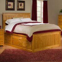 Archbold Alder Chest Bed
