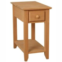 Archbold Alder Shaker Chairside Table