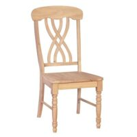 Whitewood Lattice Chair