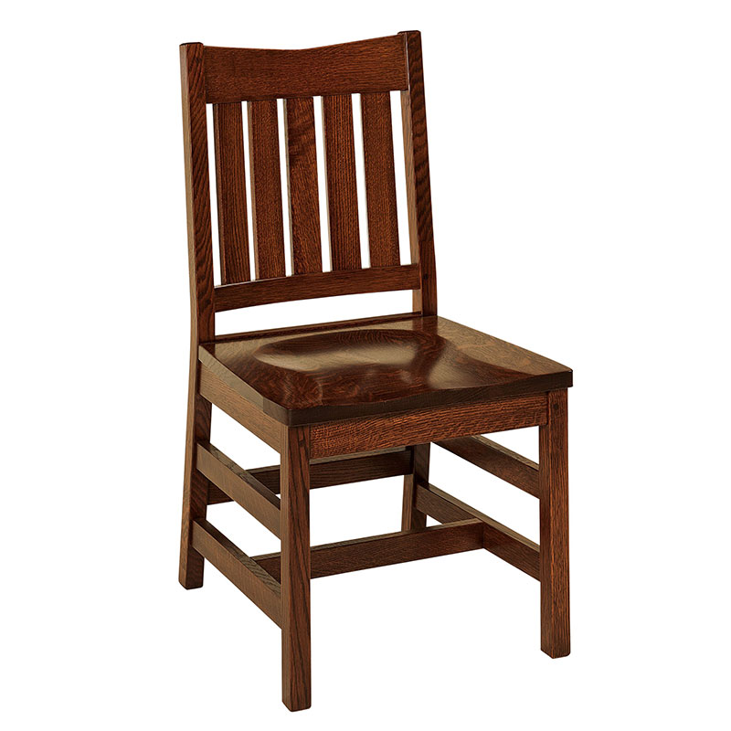 Super The Amish Christy Dining Chair Is Made To Order In Your Choice Of Wood Short Links Chair Design For Home Short Linksinfo