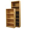 "Furniture in the Raw Basic Pine Bookcase - 24"" wide"