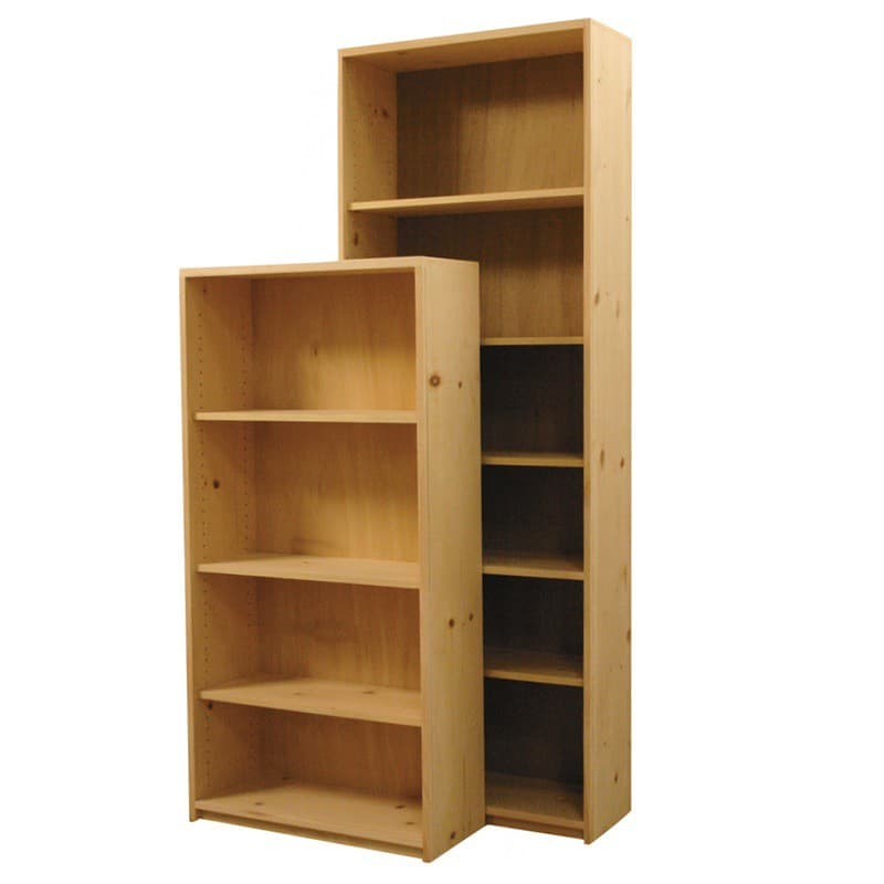 Furniture In The Raw Basic Pine Bookcase 24 Wide