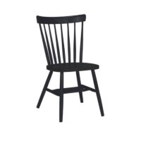 Whitewood Copenhagen Chair in black paint
