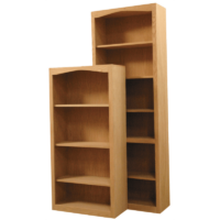 Furniture in the Raw Arch Bookcases