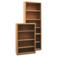 Furniture in the Raw Bookcase with Contemporary trim