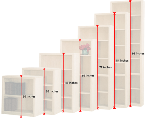 Furniture In The Raw Basic Wooden Bookcases