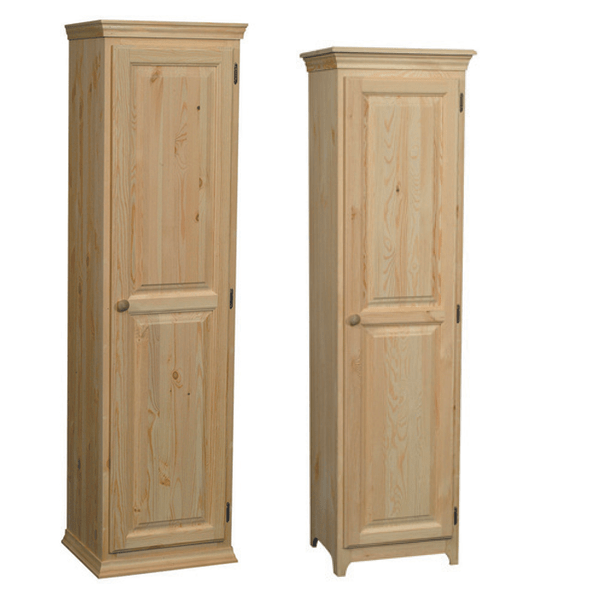 One door pine pantry for Furniture in the raw