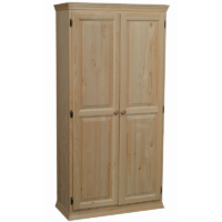 "581 Archbold Two Door Pine Pantry 72"" h."