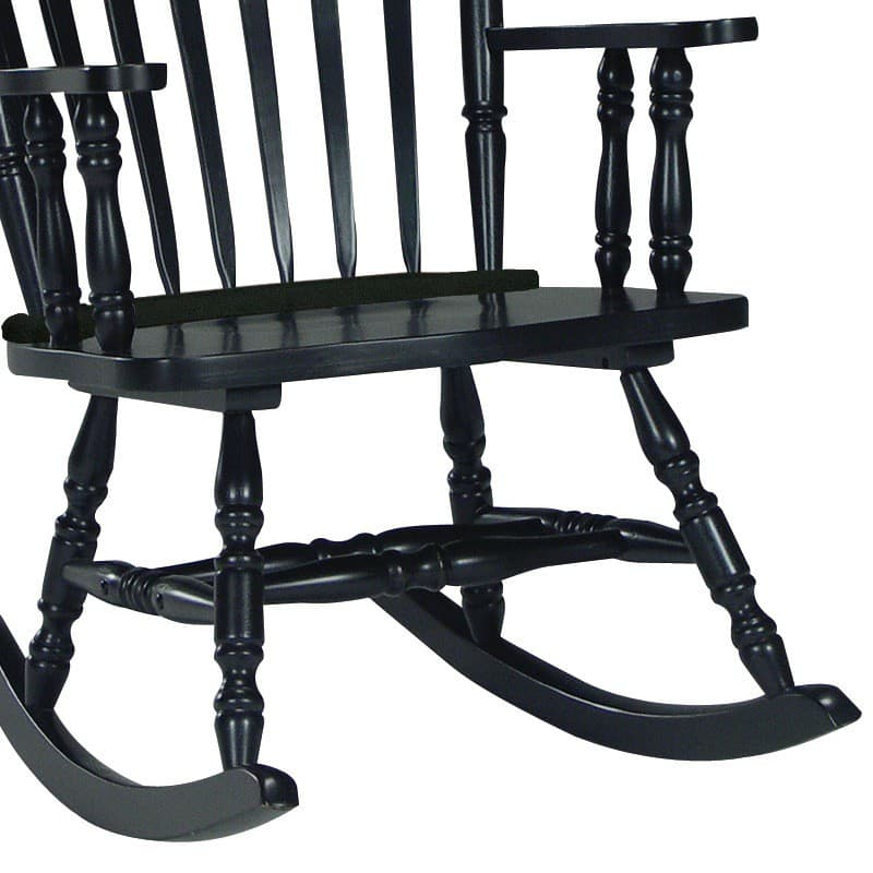 patio rusnak roast rocking furniture chairs info black dark chair outdoor wicker