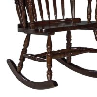 Williamsburg Colonial Rocking Chair in Espresso stain