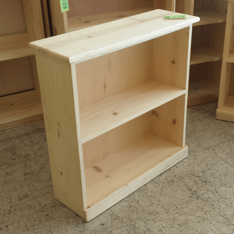 Ponderosa Pine Bookcase Furniture In The Raw