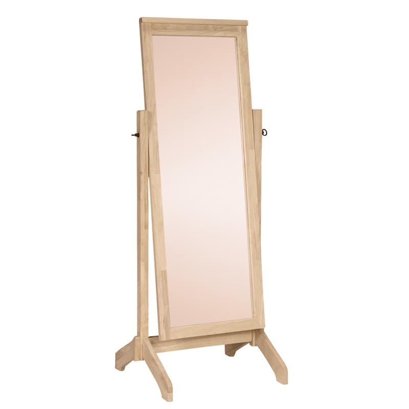 Lancaster bedroom standing mirror for Standing mirror for bedroom