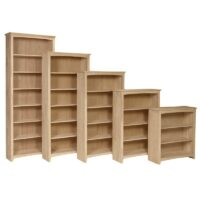 Arch Top Shaker Bookcases