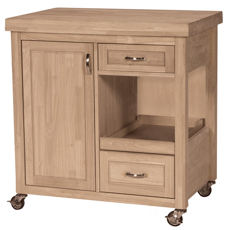 large butcher block rolling kitchen cart. Black Bedroom Furniture Sets. Home Design Ideas