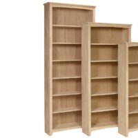 Arch Top Shaker Bookcases 84 inches