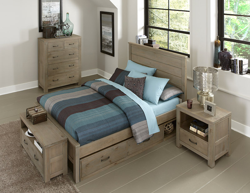 Highlands alex bed for Furniture in the raw