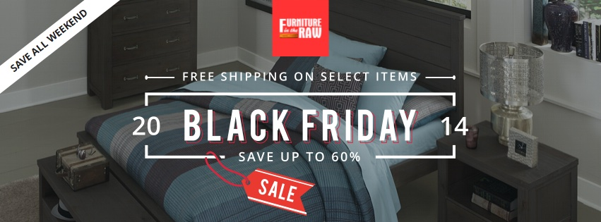 Black Friday Sale Furniture In The Raw