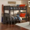 Full size Highlands Harper Bunk Bed in Espresso finish