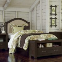 Twin Highlands Bailey Bed in Espresso