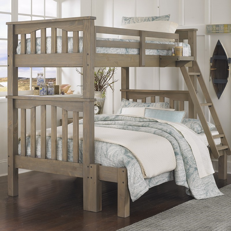 The Highlands Harper Bunk With Full Sized Bottom And Twin Top